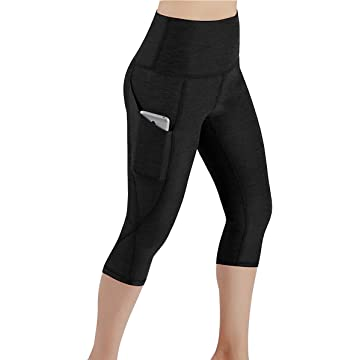 etuoji Women Yoga Fitness Running Gym Stretch Sports Pants Trousers Leggings Pants