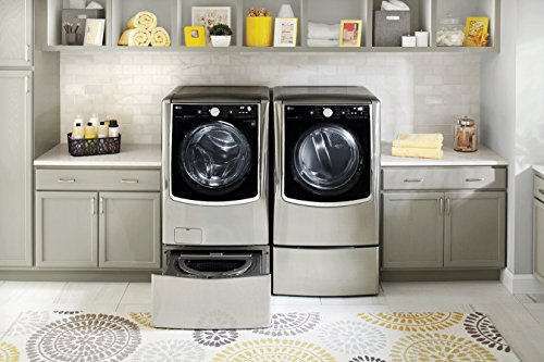 LG TurboWash Series Power Pair Special-Mega Capacity Laundry System with Twin Wash SideKick Pedestal Washer and ELECTRIC Dryer Graphite Steel (Lg Front Loading Washer And Dryer compare prices)