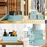 Storage Box,SEEKIND Decorative Storage Bins with