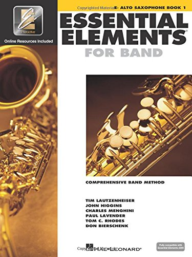 (Essential Elements 2000: Eb Alto Saxophone, Book 1)