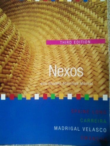Nexos, with Student Activites Manual