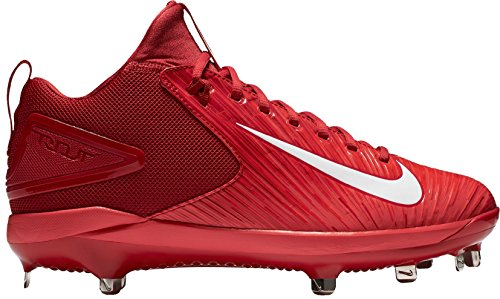 Nike Heren Forel Zoom 3 Honkbal Klamp Varsity Rood / Wit Lt Karmozijn