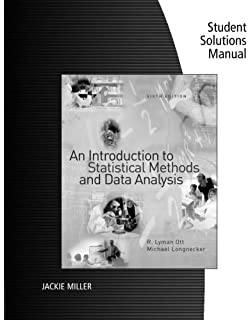Amazon an introduction to statistical methods and data analysis student soltuions manual for ottlongneckers an introduction to statistical methods and data analysis fandeluxe Image collections