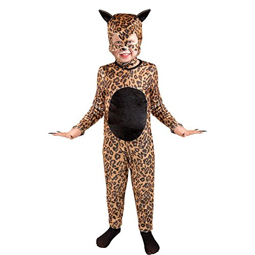 Child's Cheetah Cat Girl Halloween Costume (Size: Large 10-12)