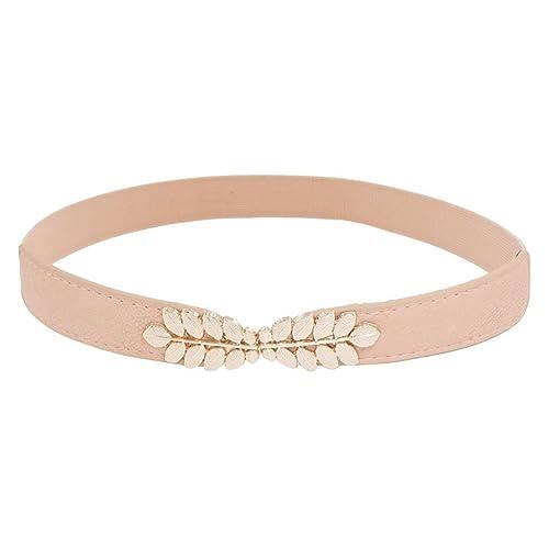 Sourcingmap – Cinturón – para mujer rosa rosa