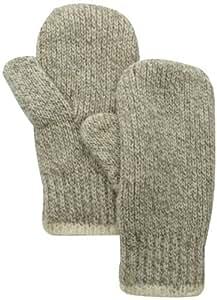 Fox River Men's Extra Heavy Double Ragg Mitten, Brown Tweed, Small