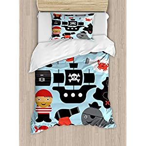 51rPdTs88ML._SS300_ Pirate Bedding Sets and Pirate Comforter Sets