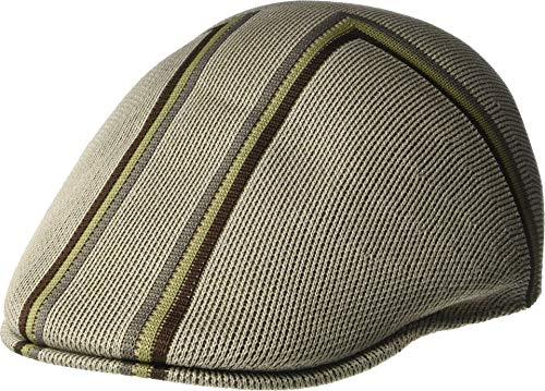 Kangol Unisex Angle Stripe 507 Putty LG (7 1/4-7 3/8)