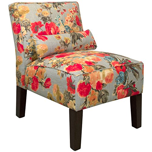 Skyline Fabric Chair (Skyline Furniture Skyline Garden Odyssey Fog Fabric Accent Chair)