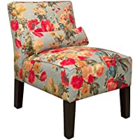 Skyline Furniture Skyline Garden Odyssey Fog Fabric Accent Chair