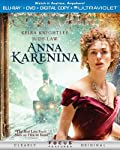 Cover Image for 'Anna Karenina (Two-Disc Combo Pack: Blu-ray + DVD + Digital Copy + UltraViolet)'