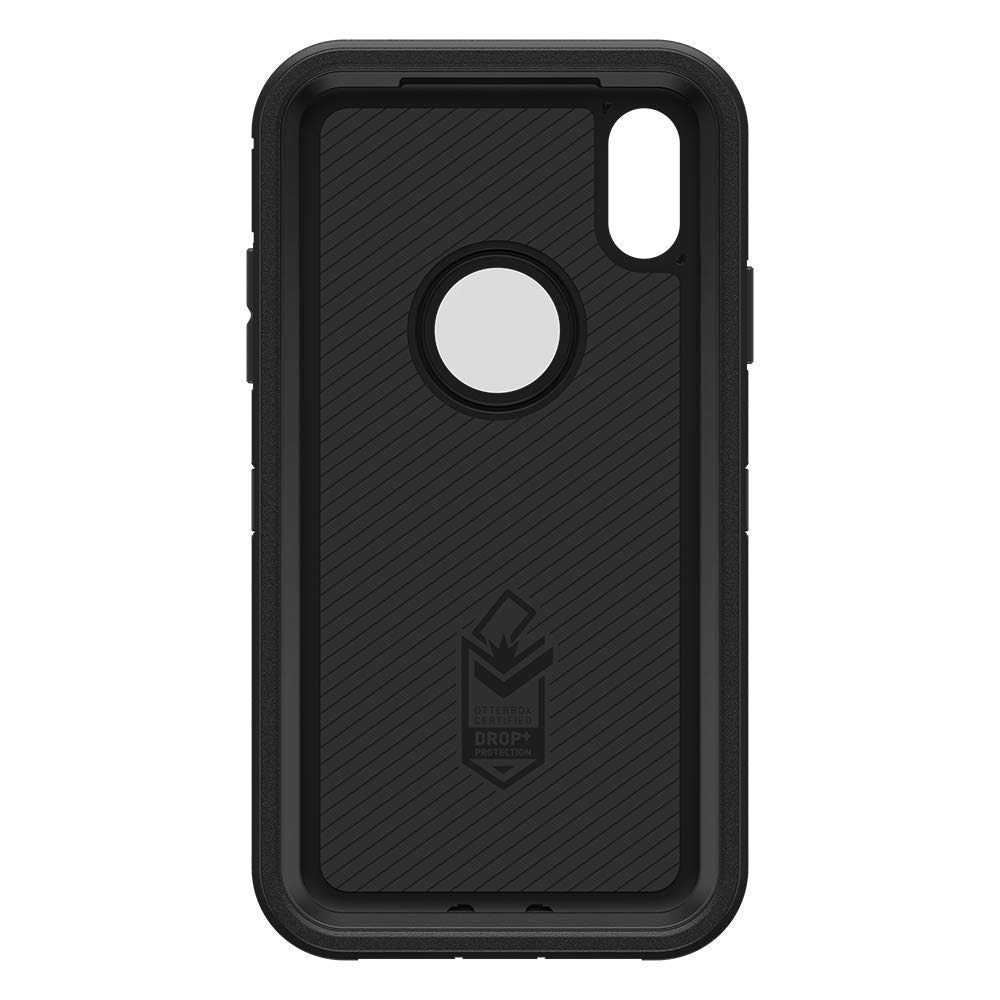 OtterBox Defender Series Case /& Holster for iPhone XR Black Renewed
