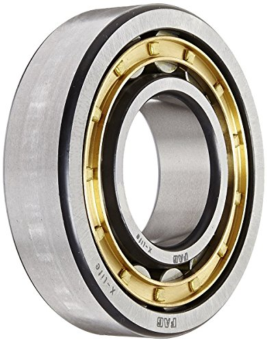 65mm ID 140mm OD Single Row Normal Clearance High Capacity FAG NU313E-M1-F1-T51F Cylindrical Traction Motor Roller Bearing Metric Straight Bore 33mm Width Schaeffler Technologies Co. Removable Inner Ring