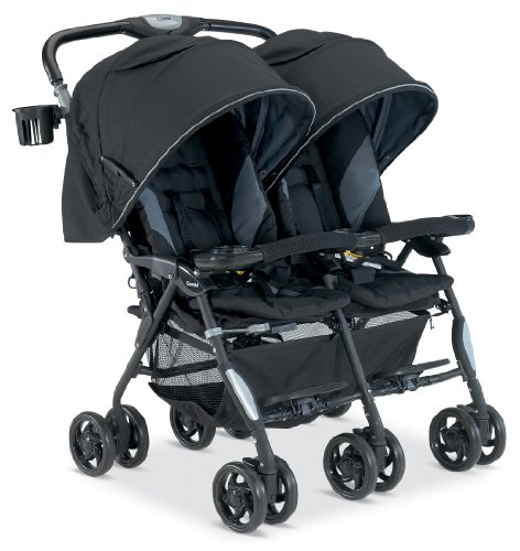 Combi Double Stroller - Black or Royal Blue Twin Cosmo Stroller