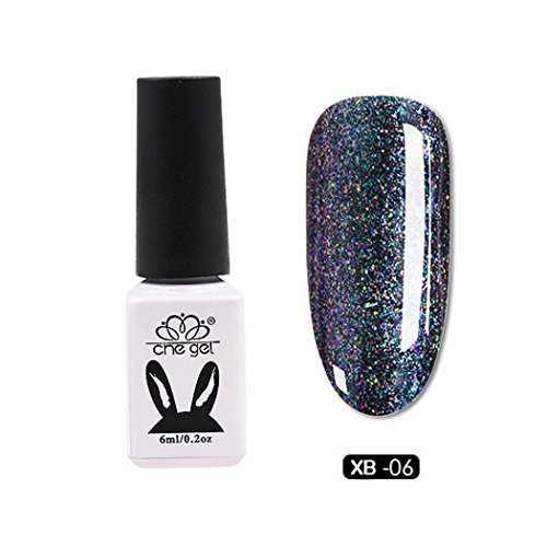 Nail UV Gel Polish Soak Off Nail Art Topcoat Cat Aurora Phantom Star Gel