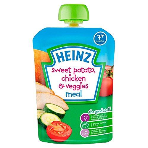 Heinz Mashed Sweet Potato, Chicken & Veggies 7mth+ ()