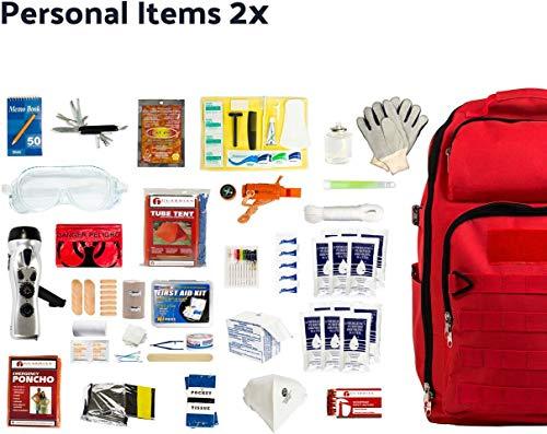 - Complete Earthquake Bag (2-person)