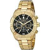 Invicta Men's 21470 Specialty Analog Display Japanese Quartz Gold-Plated Watch