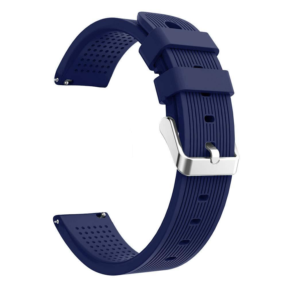 Lovewe Samsung Galaxy Watch Sport Soft Silicon Accessory,Watch Band Wirstband For Samsung Galaxy Watch 42mm (Navy)