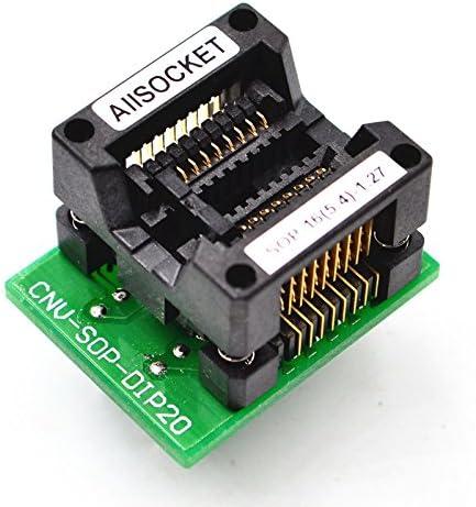 SOP16 to DIP16 Programmer Adapter Socket Converter Board 1.27 mm Pitch SE