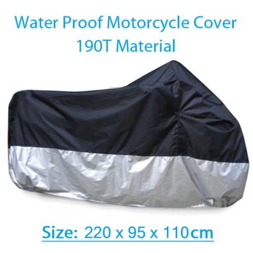 Waterproof Motorcycle Cover For Kawasaki Ninja EX250 ZZR-250 ZX-12R ZXR250 ZX-6R (Kawasaki 636 Fender Eliminator compare prices)