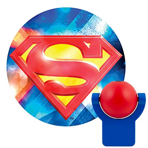 Projectables 14538, Collector's Edition LED Superman Plug-in Night Light, Multicolor
