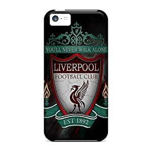 Pretty KGF1663smsP Iphone 5c Case Cover/ Liverpool Series High Quality Case
