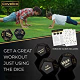 Covelico Fitness Workout Dice Exercise Dice | Home