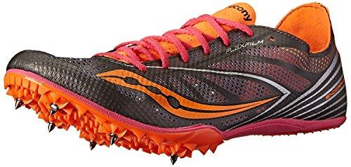 Silver 8 M Shoe 42 UK B Orange Women's B MD4 M Pink Endorphin Track Saucony EU qvnIXwxU7n
