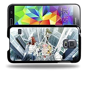 Case88 Designs Puella Magi Madoka Magica Madoka, Homura, Sayaka, Mami & Kyoko Protective Snap-on Hard Back Case Cover for Samsung Galaxy S5Kimberly Kurzendoerfer