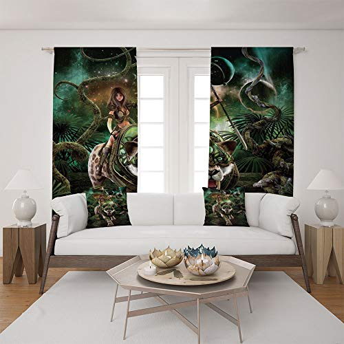 2 Panel Set Satin Window Drapes Living Room Curtains for sale  Delivered anywhere in Canada