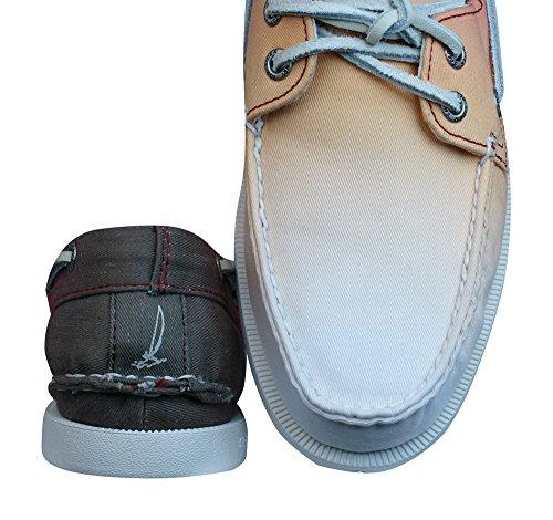 Eye O Zapatos Red para A barco hombre Sunset Sperry 2 del Ombre SxT5W