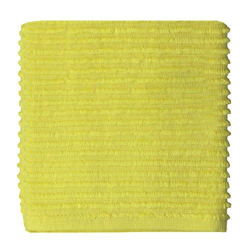 MUkitchen 100% Cotton Ridged Dishcloth, Sunburst - 12 x 12 ()