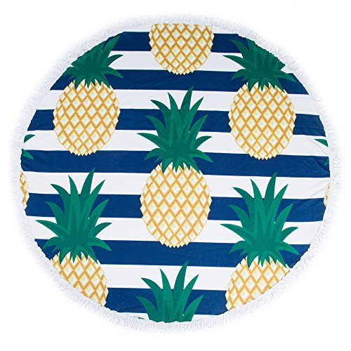 The 8 best round beach towels oversized beach towels