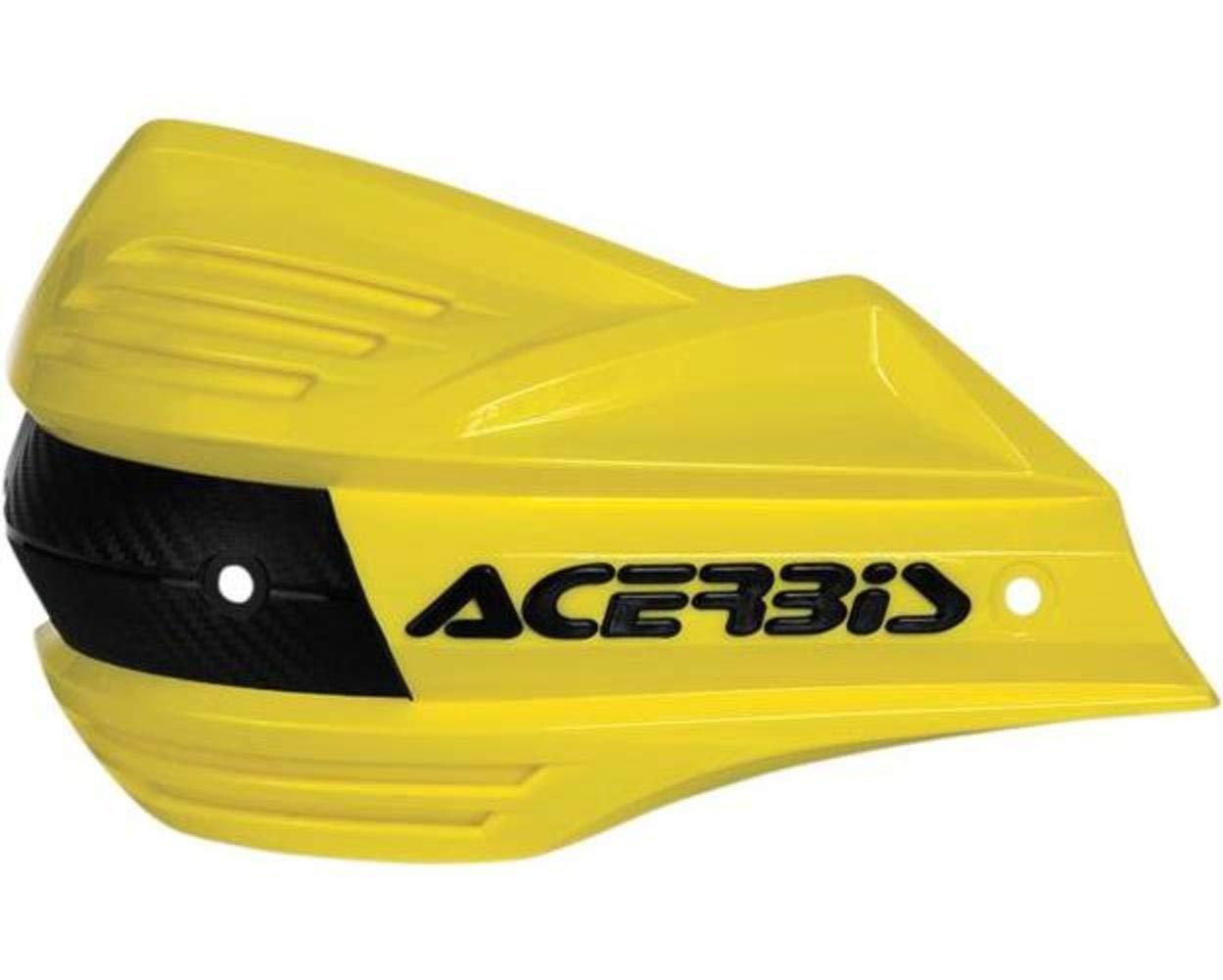 ACERBIS 2393481008 HANDSHIELDS XFACTOR OR//BK