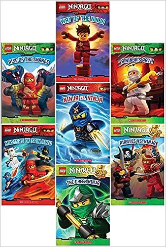 Amazon.com: LEGO® Ninjago Reader Pack: 7 Book Set: #1: Way ...
