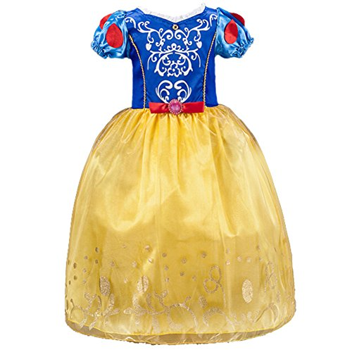 JiaDuo Little Girls Princess Costume Halloween Party Fancy Dress Up (Info About Halloween Costumes)