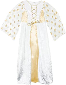 Disfraz de ángel Lea para niño con estrellas - Oro blanco ...