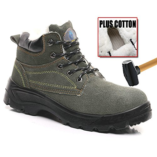 safety shoes amp;construction shoes unisex steel Army puncture 29 proof Green industrial toe work shoes qzUfw