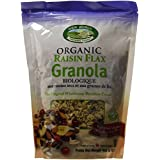 New World Foods Organic Raisin Flax Granola, 908gm