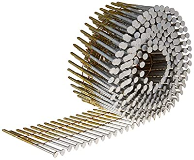 BOSTITCH C7R90BDG Thickcoat 2-3/16-Inch by .090-Inch 15 Degree Ring Shank Coil Siding Nail (3,600 per Box)