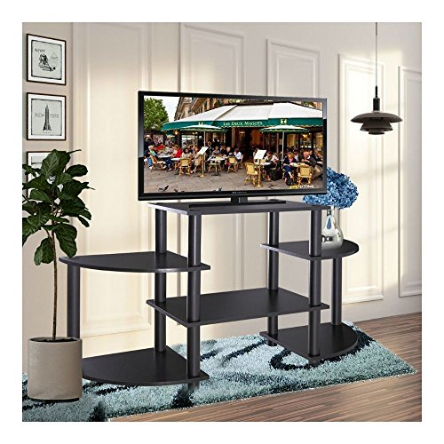 TV Stand Entertainment Center Media Console Storage Cabinet Furniture Home Black from Unknown