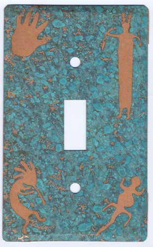 Toggle South West Hieroglyphics by Copper Switch Cover