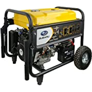 Subaru SGX7500E 14 HP Gas Powered Commercial Generator, 7500W