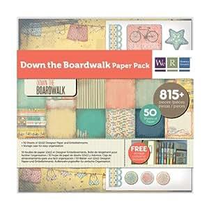 We R Memory Keepers Down The Boardwalk Paper Pack