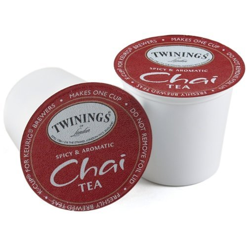 Twinings of London Single Serve K-Cup, Chai Tea, 24 Count (Pack of 2) by Twinings