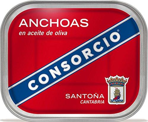 Anchoas en Aceite de Oliva Consorcio 335gr.: Amazon.es ...