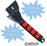 Ice Scraper for Cars and Small Trucks - Dang Near Indestructible Ice Scrapers From RevHeads - Scrape Frost and Ice