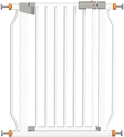 LSRRYD Barrera Extensible Perros Metal Barreras para Puertas Y Escaleras Barrera Seguridad Niños Doble Bloqueado 90 ° Puerta Abierta De Dos Vías para Escaleras Y Puertas (Size : 61-68x78cm): Amazon.es: Hogar