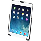 RAM EZ-Roll'r Model Specific Cradle for the Apple iPad 5th generation, iPad Air 1-2 & iPad Pro 9.7 WITHOUT CASE, SKIN OR SLEEVE